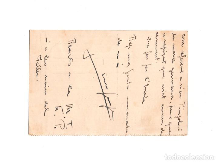 Postales: GUERRA CIVIL – TARGETA POSTAL SERVEI NACIONAL MILICIES ANTIFEIXISTES DE CATALUNYA - Foto 2 - 154376494