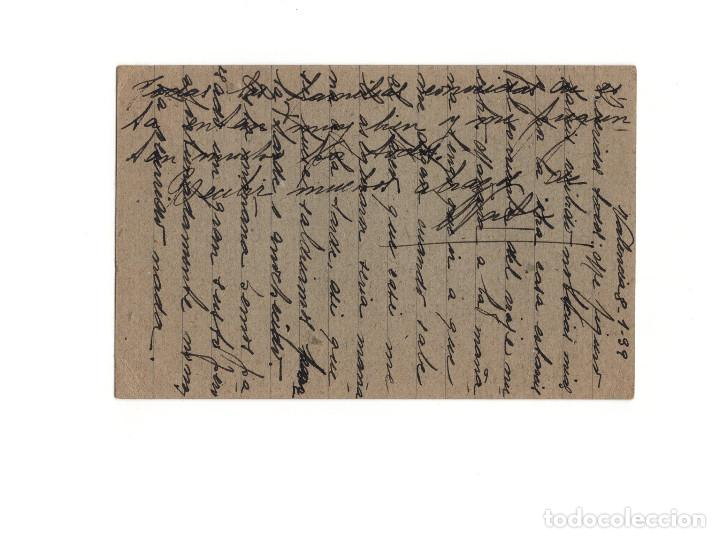 Postales: GUERRA CIVIL – TARGETA POSTAL REPÚBLICA. VALENCIA 1939 - Foto 2 - 154377698