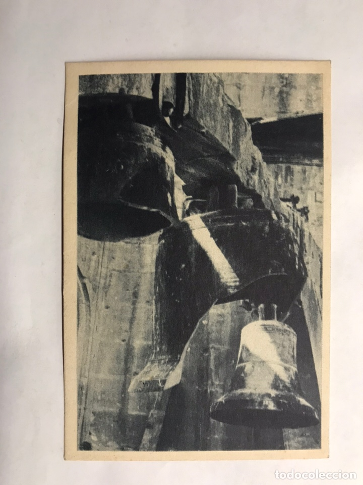 GUERRA CIVIL. OVIEDO, POSTAL EL CAMPANARIO DE LA CATEDRAL. EDITA: DELEGACIÓN DE ASTURIAS (H.1936?) (Postales - Postales Temáticas - Guerra Civil Española)
