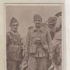 Postales: TARJETA POSTAL FOTOGRÁFICA. FRANCO DURANTE LA GUERRA. ENVIADA DESDE ARUCAS EL 30/9/1937 GUERRA CIVIL. Lote 155108674