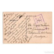 Postales: CENSURA MILITAR INTENDENCIA DIVISIÓN 13 - MANO NEGRA - FRANQUICIA EJERCITO DEL CENTRO DIVISIÓN 13. Lote 155494658