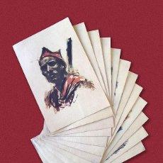 Postales: 12 POSTALES DE 1936 ESTAMPAS DE LA REVOLUCION ESPAÑOLA - BANDO REPUBLICANO DE LA GUERRA CIVIL. Lote 155566006