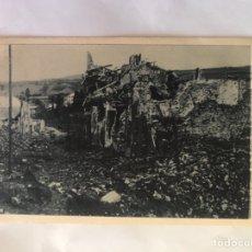 Postkarten - OVIEDO. Guerra civil. Postal, Travesía de Santo Domingo: el ancho de la calle entre ambos parapetos - 155690848