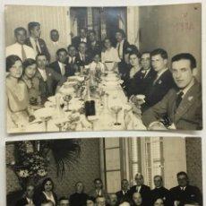 Postales: POSTALES CARLISTAS. MAIG 1932. BANQUET INAUGURACIÓ CÍRCOL CARLÍ DE MATARÓ. FOTOGRÁFICAS.. Lote 155803922