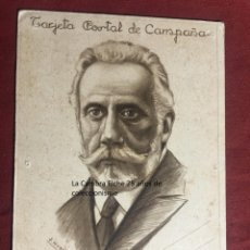 Postcards - TARJETA POSTAL DE CAMPAÑA 1937 PLENA GUERRA CIVIL PSOE AGRUPACION SOCIALISTA MADRILEÑA ELCHE MADRID - 156852282