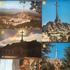 Postales: LOTE 5 POSTALES VALLE DE LOS CAIDOS. Lote 156962374