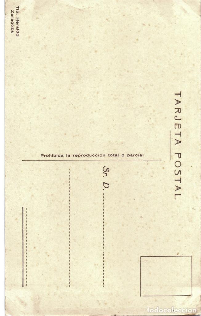 Postales: POSTAL GENERALISIMO FRANCO FOTOGRAFO ANGEL JALON ZARAGOZA GUERRA CIVIL - Foto 2 - 159537018