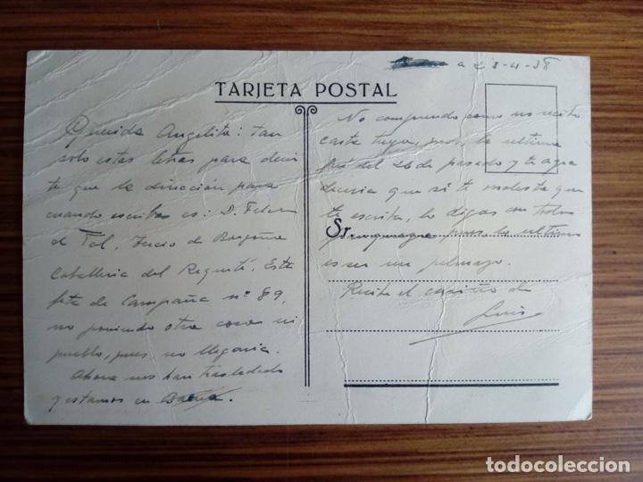 Postales: PA SEVILLA CORREOS GUERRA CIVIL CARTERO SOLDADO ABRIL DE 1938 MUY RARA REQUETE TERCIO BORGOÑA - Foto 2 - 161223526