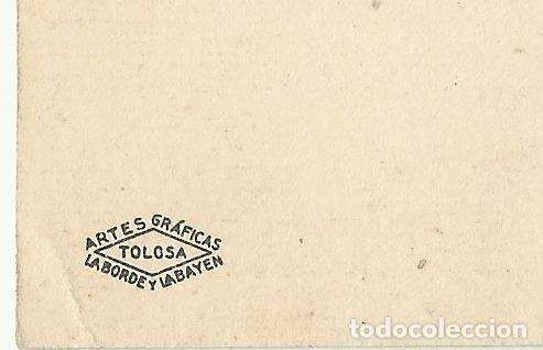 Postales: POSTAL CARMENCITA FRANCO VESTIDA DE CHARRA POR JALON ANGEL ZARAGOZA, ARTES GRAFICAS TOLOSA, LABARDE - Foto 3 - 161619494