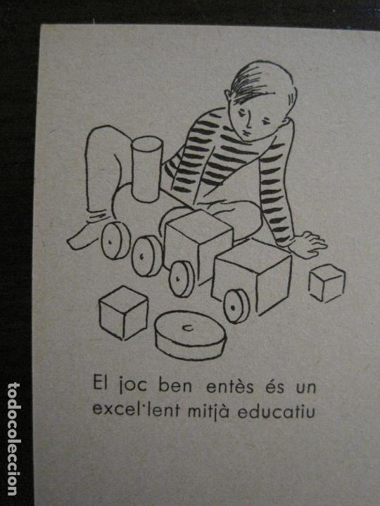 Postales: ACCIO EDUCATIVA-JOC BEN ENTES ES UN MITJA EDUCATIU-POSTAL GUERRA CIVIL-VER FOTOS-(59.200) - Foto 2 - 162969042