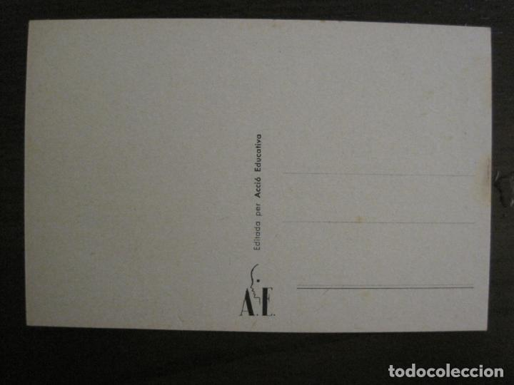 Postales: ACCIO EDUCATIVA-JOC BEN ENTES ES UN MITJA EDUCATIU-POSTAL GUERRA CIVIL-VER FOTOS-(59.200) - Foto 3 - 162969042