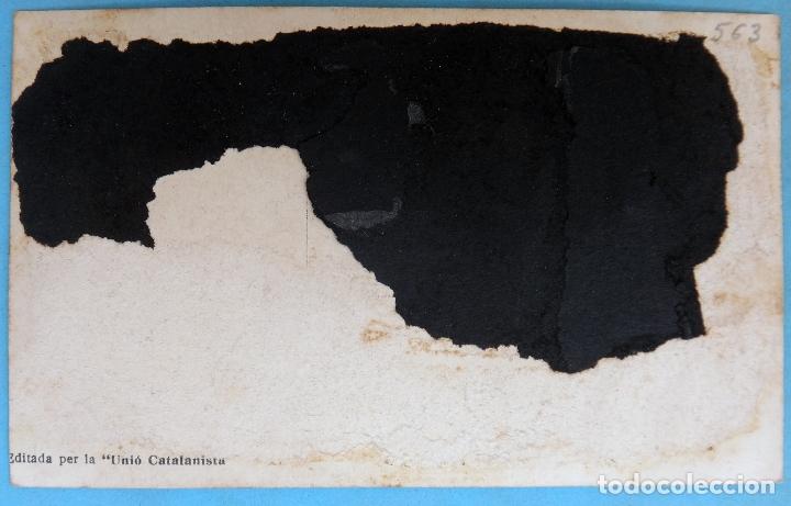 Postales: POSTAL GUERRA CIVIL , REPUBLICANA , UNIO CATALANISTA , ORIGINAL , P563 - Foto 2 - 163951002