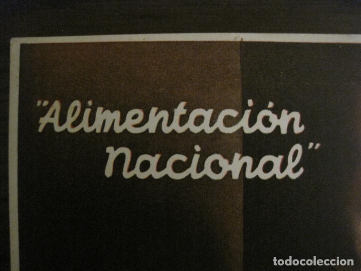 Postales: GUERRA CIVIL-ALIMENTACION NACIONAL-COMISARIA GRAL ABASTECIMIENTOS Y TRANSPORTES-VER FOTOS-(V-16.960) - Foto 2 - 164601354