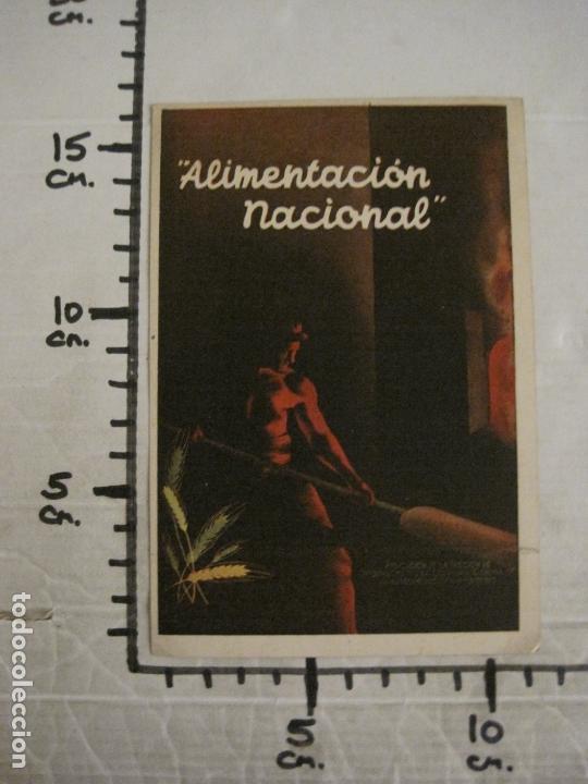 Postales: GUERRA CIVIL-ALIMENTACION NACIONAL-COMISARIA GRAL ABASTECIMIENTOS Y TRANSPORTES-VER FOTOS-(V-16.960) - Foto 8 - 164601354