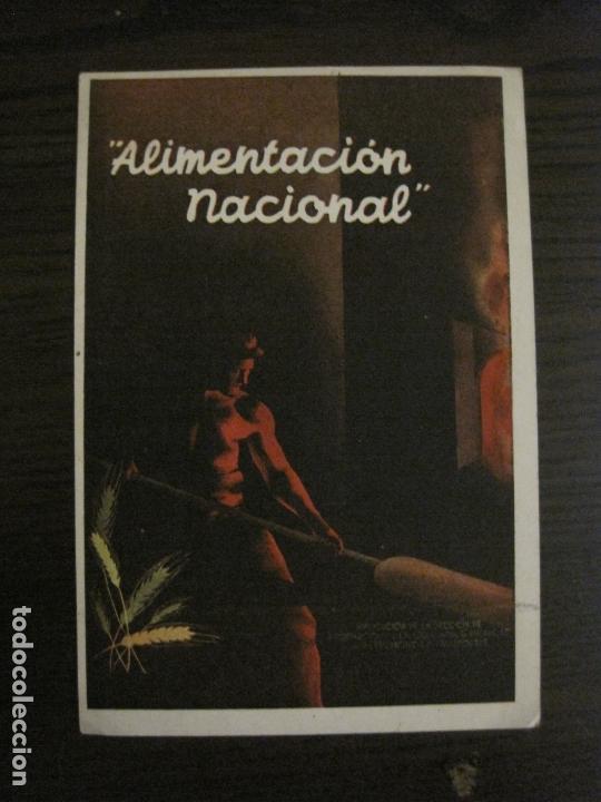 GUERRA CIVIL-ALIMENTACION NACIONAL-COMISARIA GRAL ABASTECIMIENTOS Y TRANSPORTES-VER FOTOS-(V-16.960) (Postales - Postales Temáticas - Guerra Civil Española)
