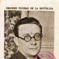 Postcards - GUERRA CIVIL. CROMO-TARJETA REPUBLICANA CIRCULADA A CASTELLÓN. - 164668586
