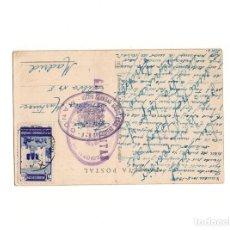 Postales: CENSURA. GRUPO FUERZAS REGULARES INDIGENAS Nº 6, MANDO. XAUEN 1942. Lote 164745326