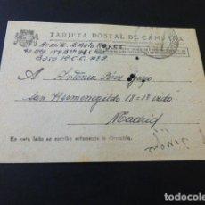 Postales: TARJETA POSTAL DE CAMPAÑA REPUBLICA ESPAÑOLA ESCRITA EN CAMPAÑA 1938 4ª BRIGADA . Lote 164761490