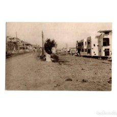 Postales: OVIEDO.- INVICTA E INVENCIBLE. JULIO 1936. OCTUBRE 1937. PUERTA NUEVA Y ENTRADA SANTO DOMINGO. Lote 164891286