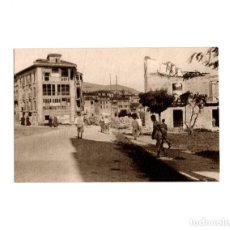 Postales: OVIEDO.- INVICTA E INVENCIBLE. JULIO 1936. OCTUBRE 1937. VISTA DE LA PLAZA DE SANTO DOMINGO. Lote 164891538