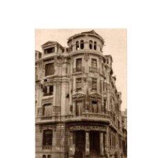 Postales: OVIEDO.- INVICTA E INVENCIBLE. JULIO 1936. OCTUBRE 1937. CALLE MEDIZABAL. EDIFICIO BANCO ASTURIANO. Lote 164893814