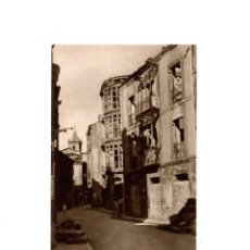 Postales: OVIEDO.- INVICTA E INVENCIBLE. JULIO 1936. OCTUBRE 1937. ENTRADA CALLE MAGDALENA.. Lote 164895014