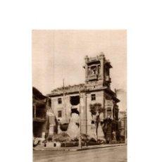 Postales: OVIEDO.- INVICTA E INVENCIBLE. JULIO 1936. OCTUBRE 1937. CALLE URÍA. CHALET DE ACCIÓN POPULAR. Lote 164895462