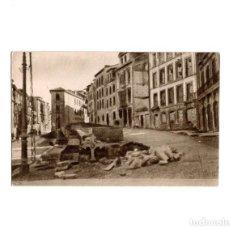Postales: OVIEDO.- INVICTA E INVENCIBLE. JULIO 1936. OCTUBRE 1937. CALLE ARZOBISPO GUISASOLA. QUIOSCO DE MECO. Lote 164898158