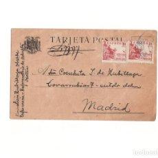 Postales: POSTAL. PRISIÓN - REFORMATORIO ADULTOS OCAÑA. CENSURA. Lote 166568006