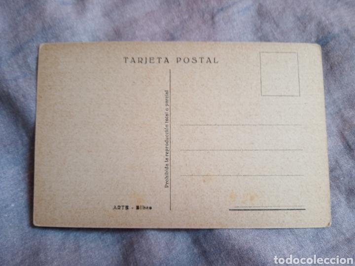 Postales: Postal guerra civil militar. Vigon. Falange.ejercito.bando nacional.franco.requete.forjadores.imperi - Foto 2 - 167668164