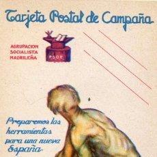 Postales: ESPAÑA. GUERRA CIVIL. TARJETA REPUBLICANA. EDIFIL Nº199. Lote 167783376