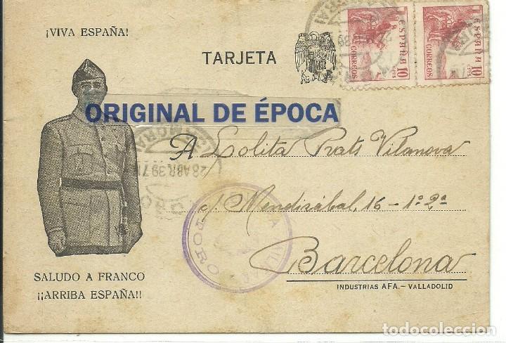 (XJ-190616)POSTAL CAMPO DE CONCENTRACION DE TORO(ZAMORA)-PRISIONERO REPUBLICANO.CENSURA (Postales - Postales Temáticas - Guerra Civil Española)