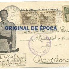 Postales: (XJ-190669)POSTAL CAMPO DE CONCENTRACION DE TORO(ZAMORA)-PRISIONERO REPUBLICANO.CENSURA. Lote 169288296