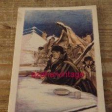 Postales: POSTAL GUERRA CIVIL ALERTA ESTÁ CIRCULADA1939 CENSURA MILITAR DE PAMPLONA LABORDE Y LABAYEN TOLOSA. Lote 169911564