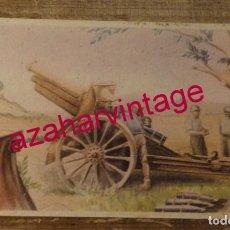 Postales: GUERRA CIVIL, POSICION ARTILLERA, EDIT.LABORDE Y LABAYEN. Lote 169911768