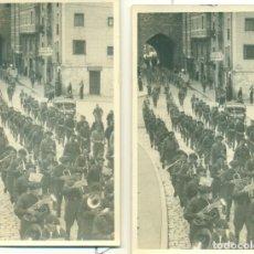 Postales: BURGOS 1936-37. MANUEL FAL CONDE REQUETÉS. CARLISMO. LOTE DE 14 FOTOPOSTALES. MUY RARAS.. Lote 170333612
