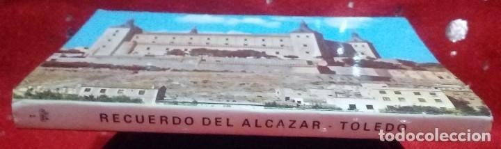 Postales: Libro - postales tematica Guerra civil,monumentos... *Alcazar de Toledo* ... 12 postales. - Foto 3 - 171279193