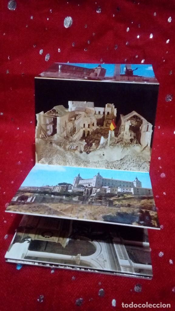 Postales: Libro - postales tematica Guerra civil,monumentos... *Alcazar de Toledo* ... 12 postales. - Foto 4 - 171279193