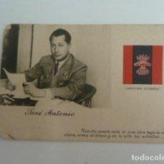 Postales: POSTAL JOSE ANTONIO PRIMO DE RIVERA ORIGINAL AÑOS 30 FALANGE SIN CIRCULARR. Lote 171820324