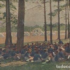 Postales: 121994 RARO FRENTE DE JUVENTUDES CAMPAMENTOS DE VERANO YUGO Y FLECHAS FRANCO GUERRA CIVIL POST. RARA. Lote 173520308