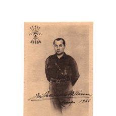 Postales: FALANGE. JOSE ANTONIO PRIMO DE RIVERA. . Lote 175109270