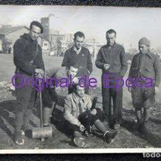 Postales: (JX-190902)POSTAL FOTOGRAFICA MILICIANOS ANTIFASCISTAS HACIENDO PRACTICAS CON MORTERO,GUERRA CIVIL.. Lote 177882132