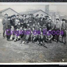 Postales: (JX-191003)POSTAL FOTOGRAFICA MILICIANOS ANTIFASCISTAS,PRACTICAS CON MORTERO.GUERRA CIVIL.. Lote 177882400