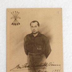 Postales: POSTAL DE JOSÉ ANTONIO PRIMO DE RIBERA CON FIRMA DE 1915. SIN CIRCULAR. Lote 178112957