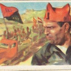 Postales: POSTAL EDICION EXCLUSIVA CRUZ ROJA SERIE A Nº 5 BUQUE - BUENAVENTURA DURRUTI.. Lote 178370753
