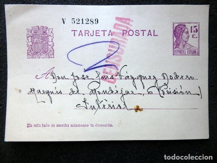 Postales: (JX-191088)LOTE DE 82 TARJETAS POSTALES GUERRA CIVIL.REMITIDAS A JOSE LUIS VAZQUEZ DODERO,PERIODISTA - Foto 4 - 178722716