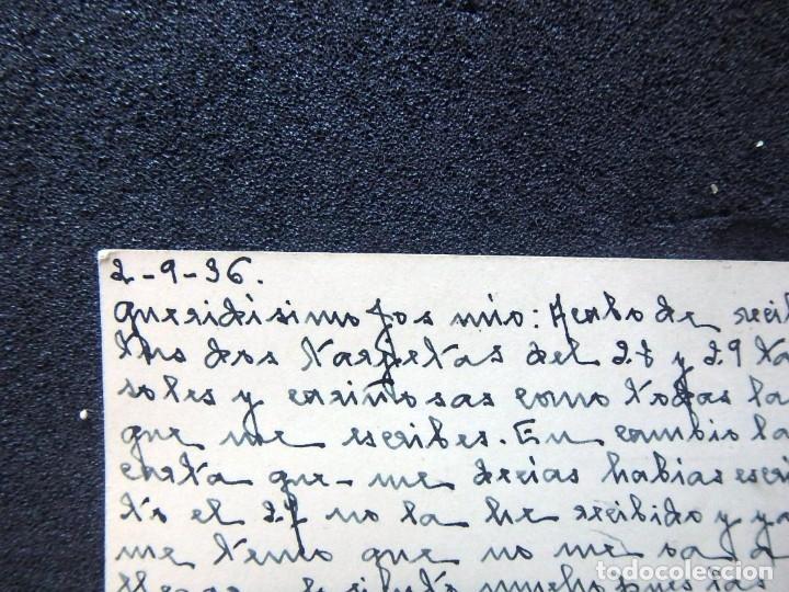Postales: (JX-191088)LOTE DE 82 TARJETAS POSTALES GUERRA CIVIL.REMITIDAS A JOSE LUIS VAZQUEZ DODERO,PERIODISTA - Foto 6 - 178722716