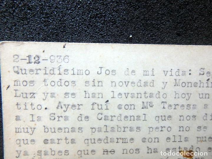 Postales: (JX-191088)LOTE DE 82 TARJETAS POSTALES GUERRA CIVIL.REMITIDAS A JOSE LUIS VAZQUEZ DODERO,PERIODISTA - Foto 9 - 178722716