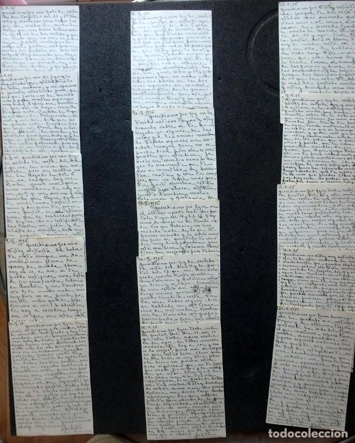 Postales: (JX-191088)LOTE DE 82 TARJETAS POSTALES GUERRA CIVIL.REMITIDAS A JOSE LUIS VAZQUEZ DODERO,PERIODISTA - Foto 12 - 178722716