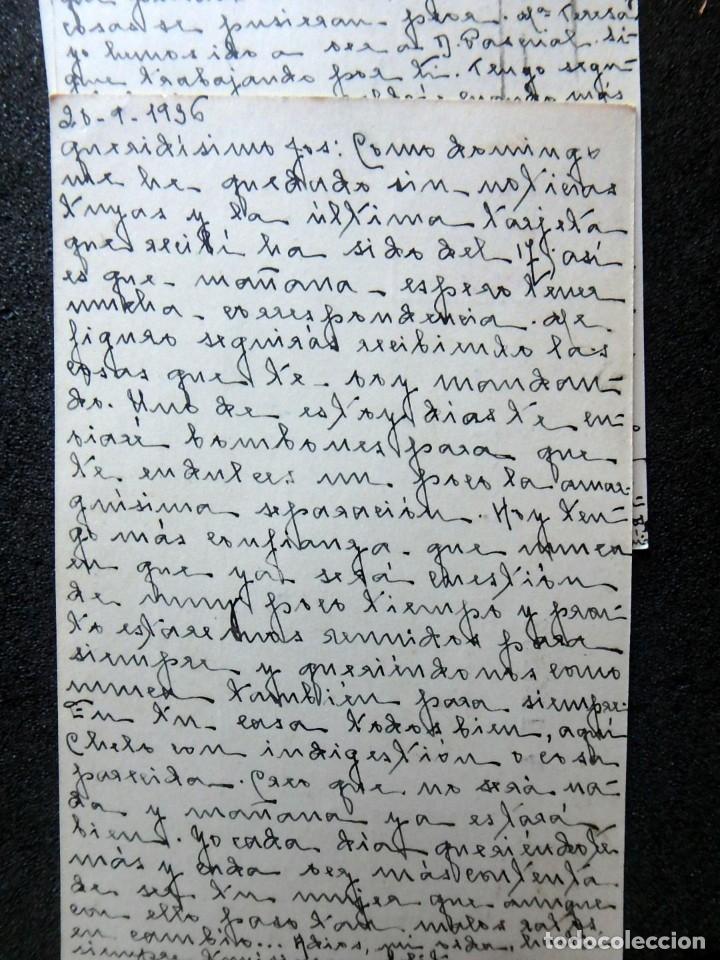 Postales: (JX-191088)LOTE DE 82 TARJETAS POSTALES GUERRA CIVIL.REMITIDAS A JOSE LUIS VAZQUEZ DODERO,PERIODISTA - Foto 13 - 178722716